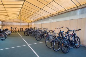 Bike Storage Area